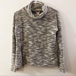 Converse Gray Cowl Neck Sweater